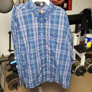 The Foundry mens size 2XL long sleeve button up